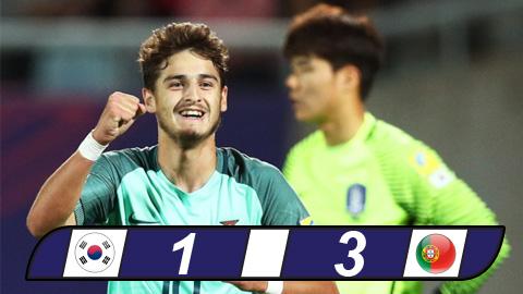 Chủ nhà Hàn Quốc dừng bước ở vòng 1/8 U20 World Cup