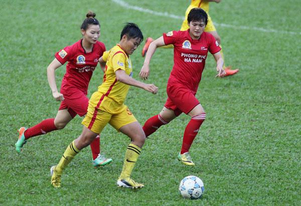 Lượt trận thứ 7 giải BĐ nữ VĐQG - Cúp Thái Sơn Bắc 2017: Phong Phú Hà Nam tạm thời lên đầu