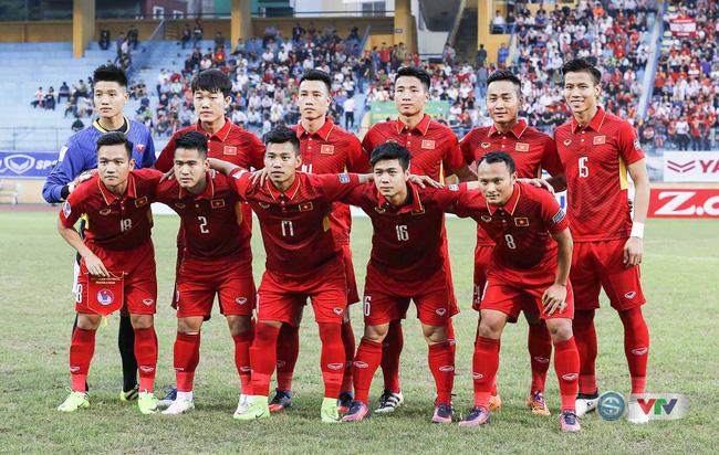 ĐT Việt Nam tăng 5 bậc trên BXH FIFA tháng 6/2017