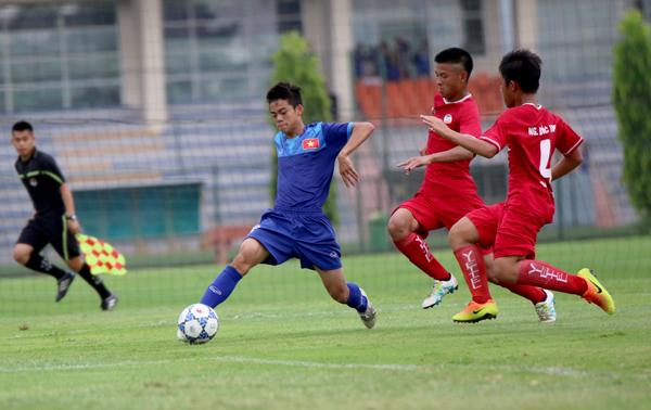 Đấu tập, ĐT U15 Việt Nam - CLB Viettel: 1-0