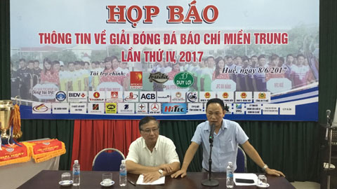 Hơn 300 phóng viên và BTV tham gia giải bóng đá Báo chí miền Trung lần thứ 4