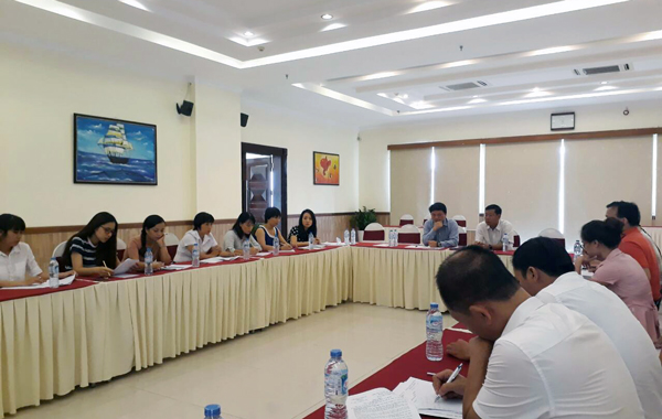 Rà soát công tác chuẩn bị trước Giải bóng đá quốc tế U15 – Cúp NhựaTiền Phong 2017