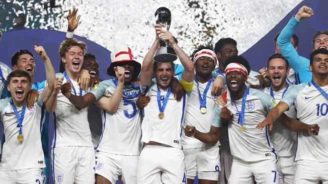 Thắng nghẹt thở Venezuela, Anh lên ngôi vô địch U20 World Cup
