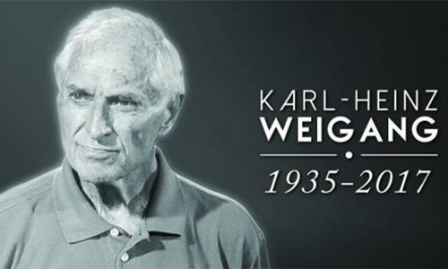LĐBĐVN gửi thư chia buồn tới gia đình HLV Karl-Heinz Weigang