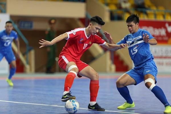 Vòng 12 Giải futsal VĐQG HDBank 2017: Thái Sơn Nam thẳng tiến