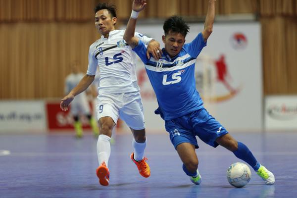 """Vòng 13 Giải futsal VĐQG HDBank 2017: Thái Sơn Nam suýt  """"ngã ngựa"""" trước Thái Sơn Bắc"""