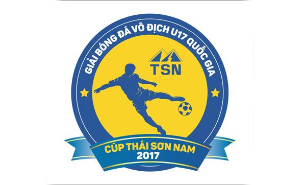 Thông báo số  4 giải bóng đá VĐ U17 QG - Cúp Thái Sơn Nam 2017