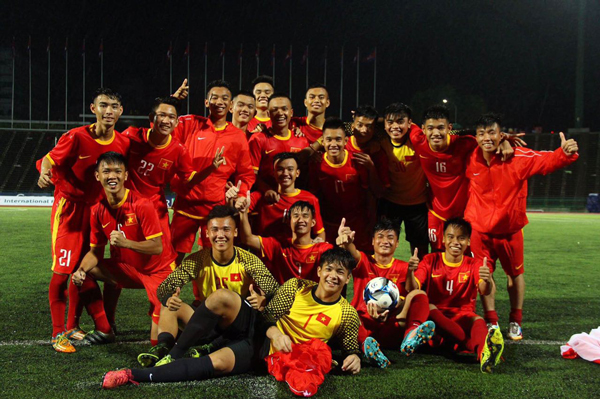 Giao hữu quốc tế: U17 Việt  Nam thắng U17 Campuchia 4-0