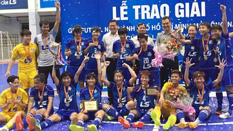 Chung kết giải Futsal TP HCM mở rộng - Cúp LS 2017: Đội Quận 8 đoạt chức vô địch