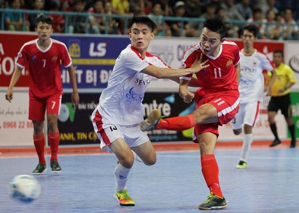 Đấu sớm vòng 18 giải futsal VĐQG HDBank 2017: Cao Bằng thắng kịch tính