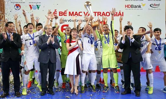 Thái Sơn Nam chính thức đăng quang, Sanatech Khánh Hòa đoạt ngôi nhì chung cuộc