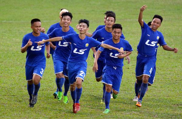 VCK giải vô địch U17 QG- Cúp Thái Sơn Nam 2017: PVF rộng đường vào bán kết