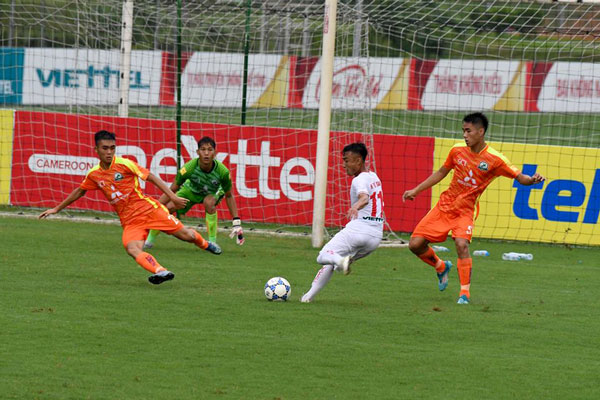 Kết quả hai trận đấu sớm vòng 12 bảng A giải Bóng đá hạng Nhì Quốc Gia 2017, ngày 6/7