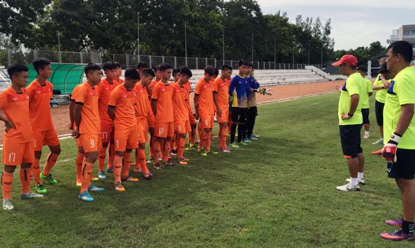 U15 Việt Nam đặt mục tiêu giành trọn 3 điểm trong trận ra quân