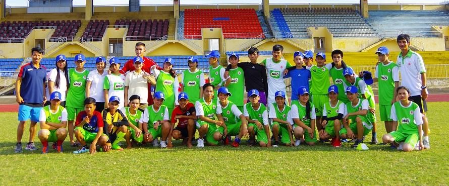 Lớp tập huấn huấn luyện viên, trọng tài, kỹ năng sống và lãnh đạo đồng đẳng cho các CLB