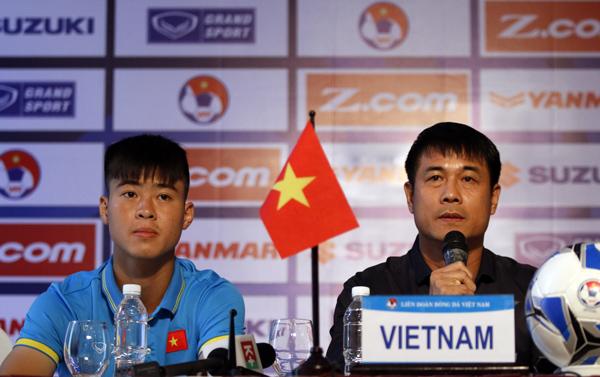 Phát biểu trước Vòng loại U23 châu Á 2018- Bảng I:  Mục tiêu và tham vọng