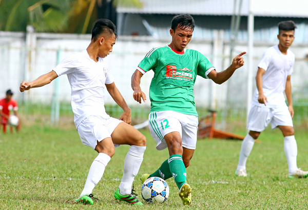 Kết thúc vòng loại giải Bóng đá hạng Nhì Quốc Gia 2017, ngày 18/7: Xác định được 8 đội vào VCK