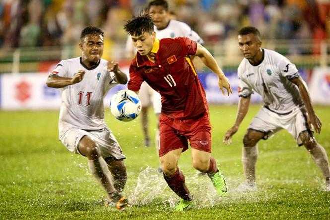 U22 Việt Nam giành trọn 3 điểm trận ra quân tại Vòng loại U23 châu Á 2018