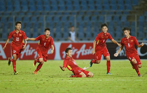 Đánh bại Australia 2-0, U15 Việt Nam gặp Thái Lan tại chung kết U15 AFF 2017