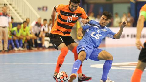 Giải futsal CLB châu Á 2017: Thái Sơn Nam thua ngược trước FC Erem