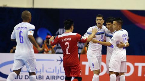 Giải futsal châu Á 2017: Thái Sơn Nam trút mưa gôn vào lưới Vic Vipers