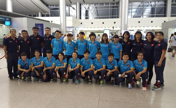 Đội tuyển Futsal nữ Quốc gia lên đường đi tập huấn tại Nhật Bản