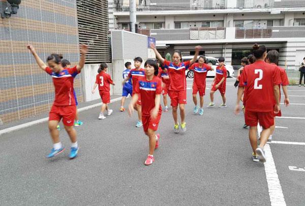 Thông tin đội tuyển Futsal nữ Quốc gia tập huấn tại Nhật Bản