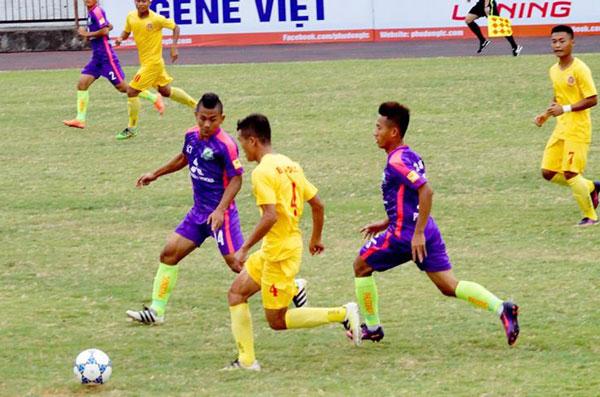 Khởi tranh VCK giải Bóng đá hạng Nhì Quốc Gia 2017, ngày 25/7: CAND và Bình Định giành quyền đi tiếp