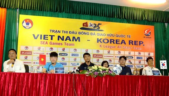 U22 Việt Nam vs. Tuyển các Ngôi sao K League: Chờ màn trình diễn mãn nhãn