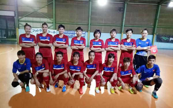 Hướng tới SEA Games 29: ĐT Futsal nữ Quốc gia hoàn thiện kỹ chiến thuật, ổn định bộ khung