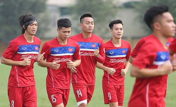 Thông tin ĐT U22 quốc gia: Công bố danh sách 24 cầu thủ đi Hàn Quốc tập huấn