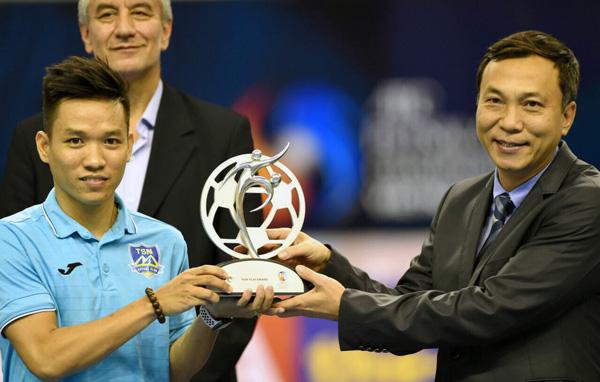 Thái Sơn Nam nhận cú đúp giải thưởng tại giải vô địch futsal các CLB châu Á 2018