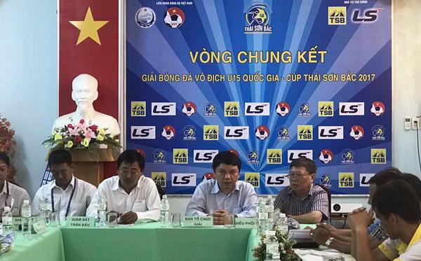 Tây Ninh sẵn sàng cho ngày khai mạc VCK U15 QG- Cúp Thái Sơn Bắc 2017