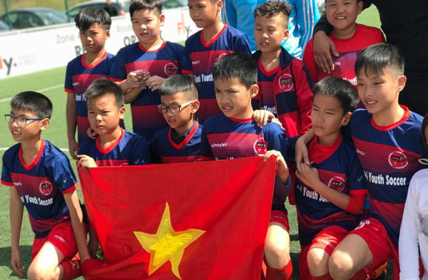 H.Y.S đại diện Việt Nam tham dự Gothia Cup 2017