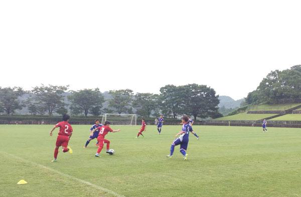 Chiều nay (8/8), ĐT nữ Việt Nam tiếp tục đấu tập với CLB Okayama Selection Team (Nhật Bản)