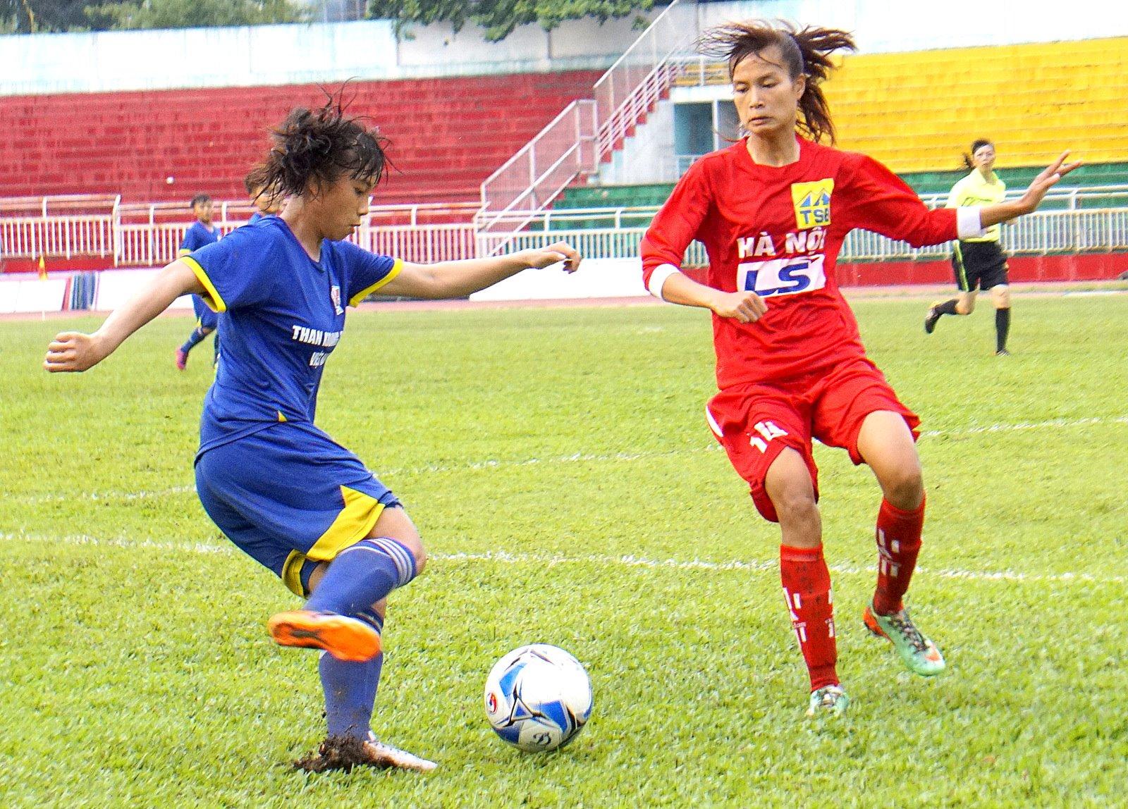 Lượt trận thứ 2 giải BĐ nữ VĐ U19 QG 2017: Than KSVN vững ngôi đầu
