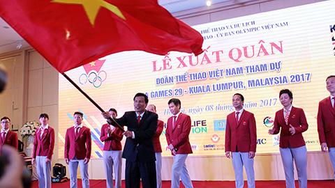 Đoàn Thể thao Việt Nam đặt chỉ tiêu 59 HCV ở SEA Games 29