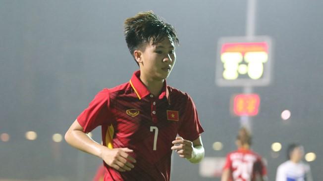 Tiền vệ Tuyết Dung tràn đầy hy vọng cùng đội tuyển nữ Việt Nam tham dự VCK giải đấu châu lục