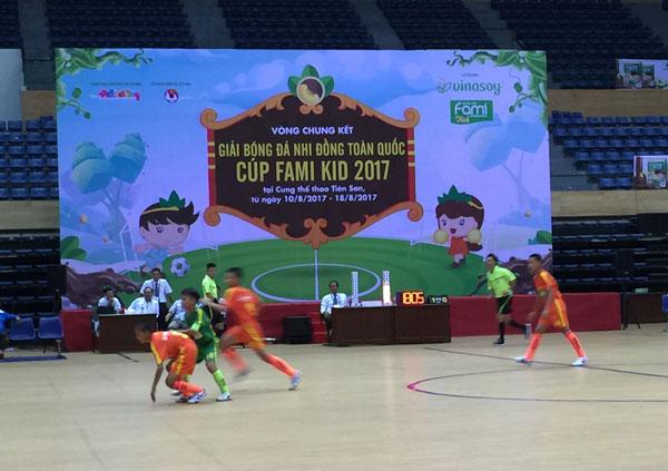 Khai mạc VCK giải Bóng đá thiếu niên Nhi đồng toàn quốc 2017