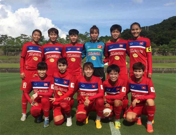 Đội tuyển nữ Quốc gia kết thúc tốt đẹp chuyến tập huấn tại Nhật Bản