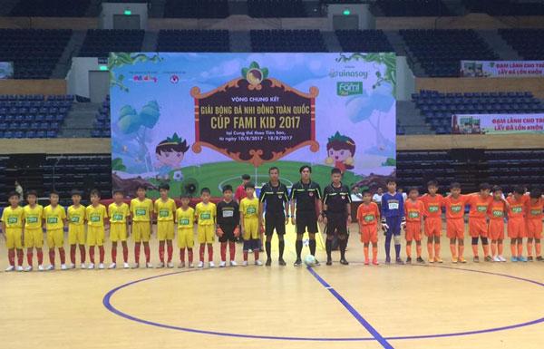 Kết quả lượt trận thứ 3 VCK giải Bóng đá U11 Toàn Quốc 2017, ngày 13/8: Xác định được 8 đội lọt vào vòng Tứ kết