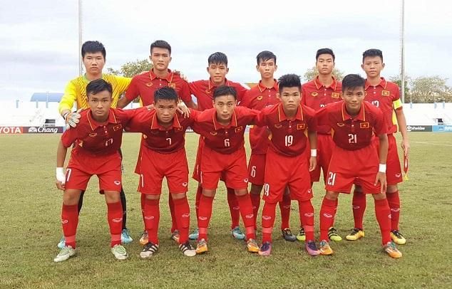 Ngày 17/8, ĐT U16 Việt Nam tập trung chuẩn bị tham dự VL U16 châu Á 2018