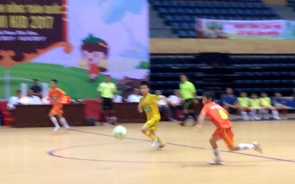 SLNA và Hải Dương gặp nhau tại trận Chung kết giải Bóng đá U11 toàn Quốc 2017