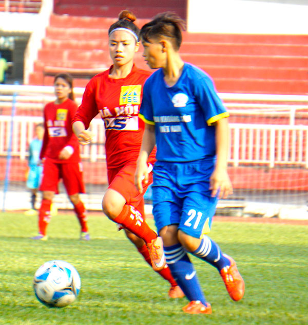 Lượt trận 5 giải bóng đá nữ Vô địch U19 Quốc gia 2017: Ngôi vô địch sớm thuộc về Than KSVN