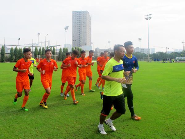 Đội tuyển U16 nam Quốc gia tập trung: Khởi động chiến dịch chinh phục VL U16 châu Á 2018