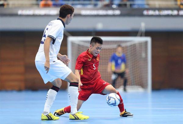 SEA Games 29, ĐT Futsal Việt Nam ra quân gặp Thái Lan: Nỗ lực bất thành