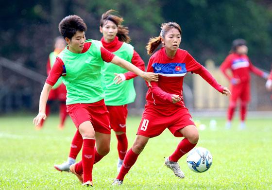 Thông tin đội tuyển nữ Việt Nam tại SEA Games 29: Chuẩn bị kỹ cho trận đấu với Myanmar