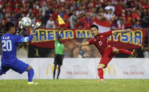Chân sút kém duyên, U22 Việt Nam bị Indonesia chia điểm đáng tiếc