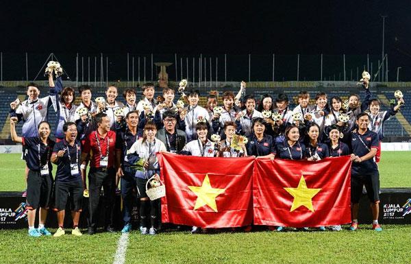 Đội tuyển nữ Việt Nam giành Huy chương Vàng SEA Games 29