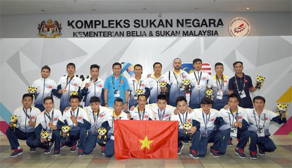 Đội tuyển Futsal nam Việt Nam giành HCĐ tại SEA Games 29
